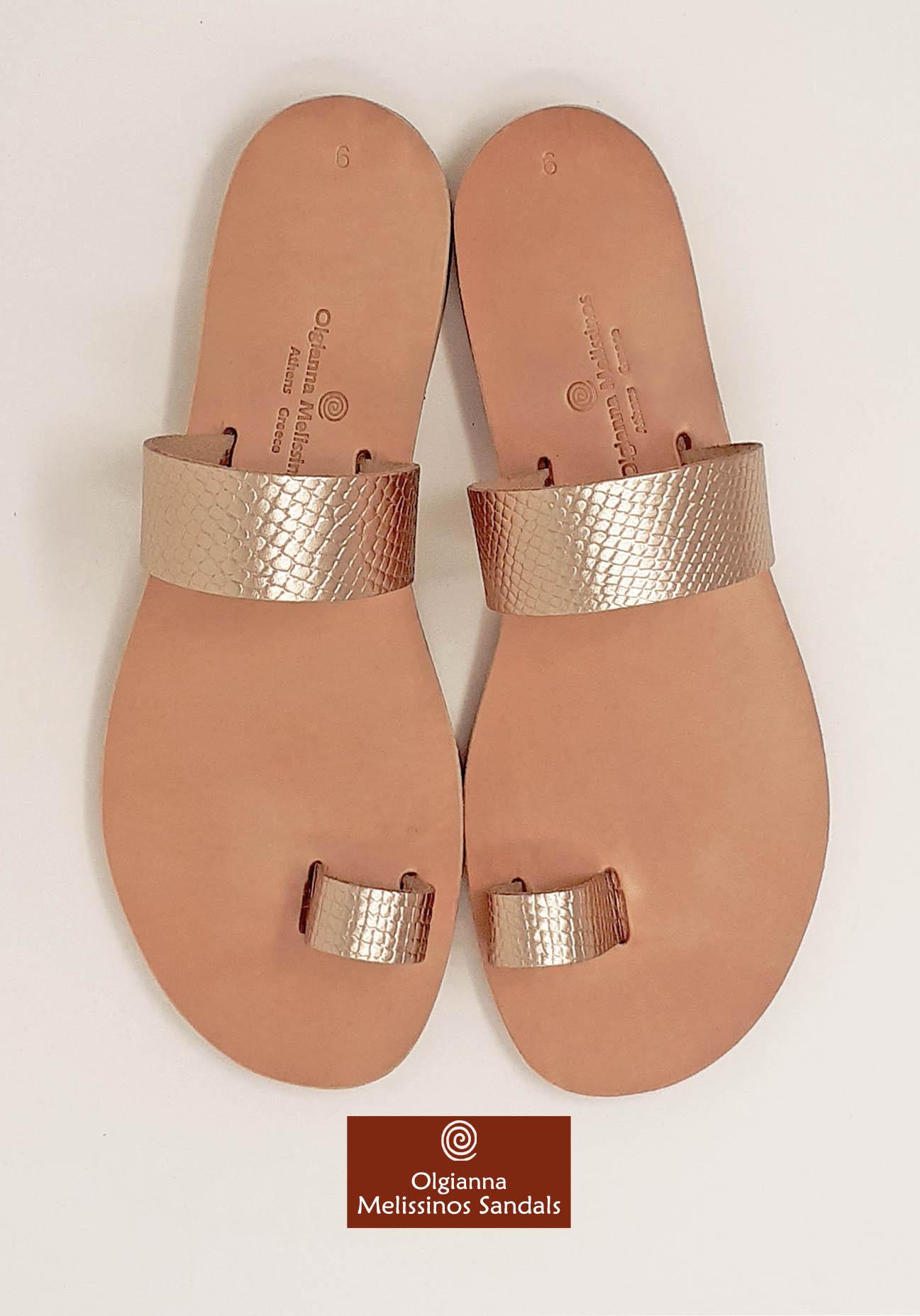 Handmade Sandals - APOLLO SNAKE GRECIAN GOLD 06FGGK