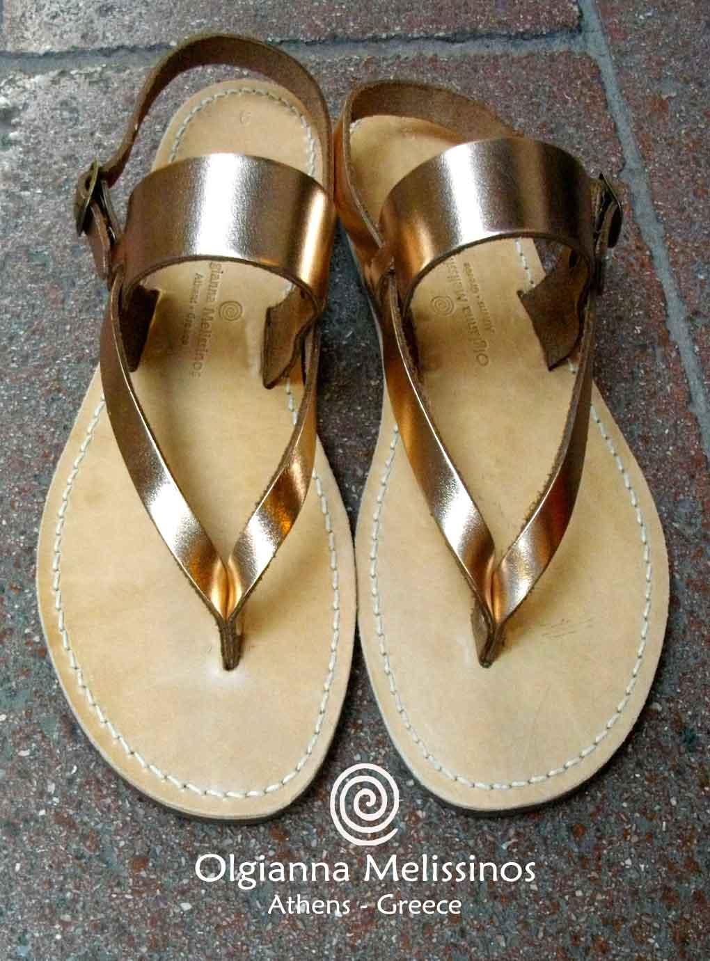 Handmade Sandals - THETA BRONZE 9BR