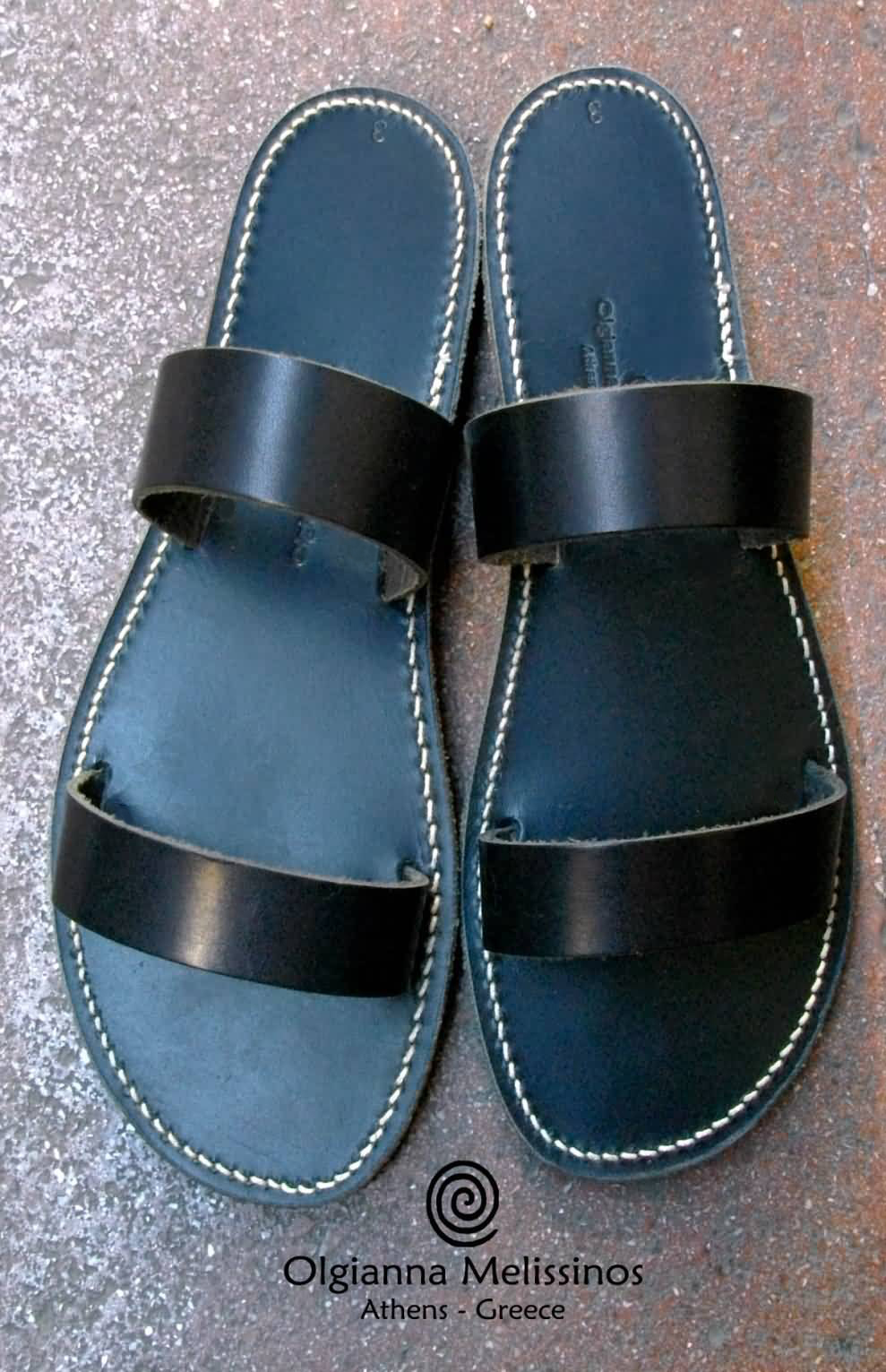 Handmade Sandals - HERA ALL BLACK 17MM