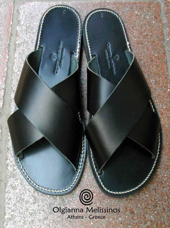 Handmade Sandals - CHI BLACK 29MM