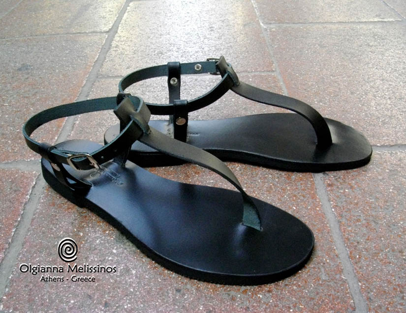 Handmade Sandals - MARISSIA BLACK 3VMMK