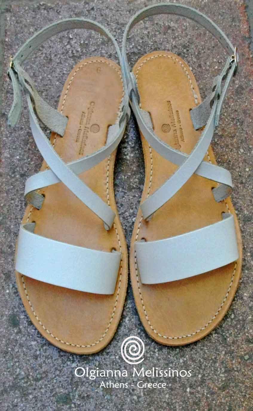 Handmade Sandals - JASON WHITE 8A