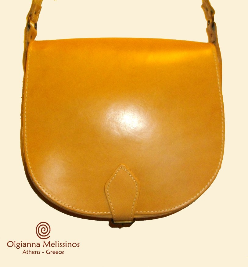 Leather Bag Oval Large - TB34B