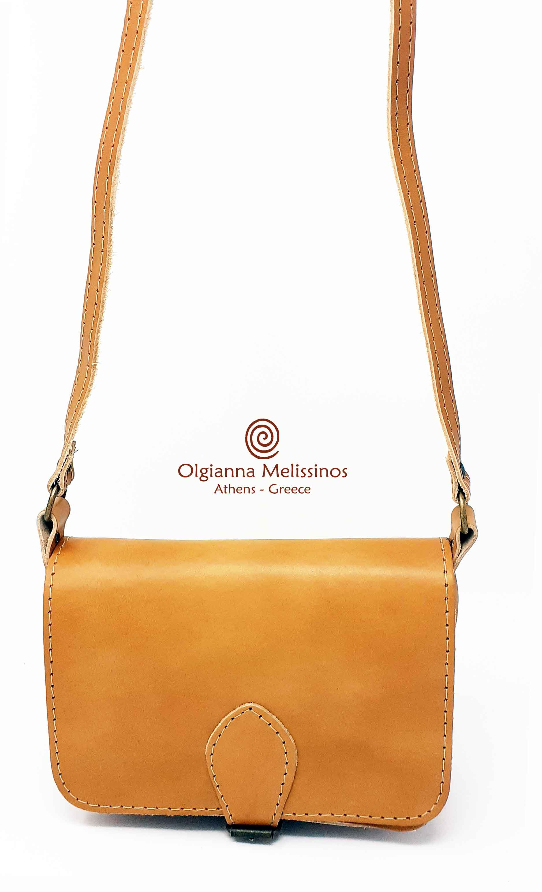 Leather Bag square small - TB69B